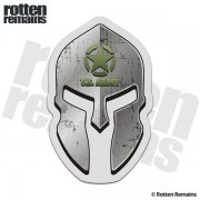 US Army Spartan Helmet Decal United States Soldier Military Sticker