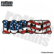 American Logger Sticker Decal