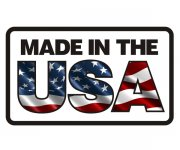 Made In The USA Decal US American Flag United States Vinyl Sticker