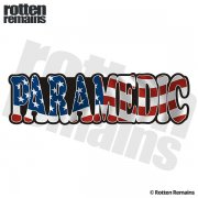 American Paramedic Sticker Decal