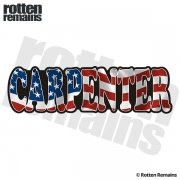 American Carpenter Sticker Decal