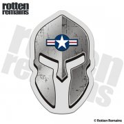 USAF Spartan Helmet Decal United States Air Force Military Sticker