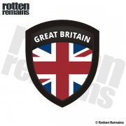 United Kingdom UK Flag Great Britain Shield Badge Sticker Decal