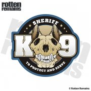 Sheriff K9 Unit To Serve and Protect K-9 Officer Sticker Decal