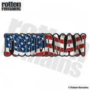 American Fisherman Sticker Decal