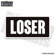Loser Funny Sticker Decal