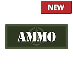 Olive Military Ammo Can Stickers