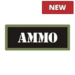 Black/Olive Ammo Can Stickers