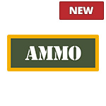 Olive/Yellow Ammo Can Stickers