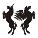 Unicorn / Pegasus Stickers