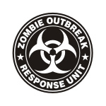 Zombie Response Unit Stickers